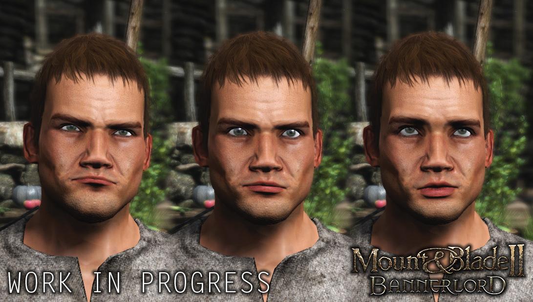 Facial Expressions Set 1