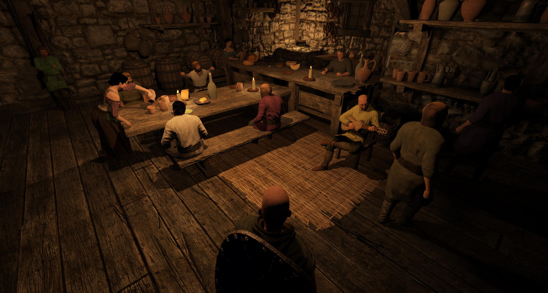 Vlandia Tavern Scene