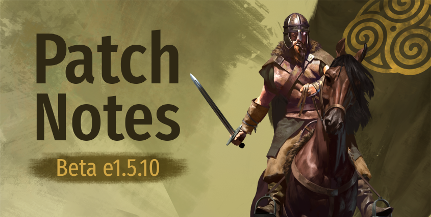 Beta Patch Notes e1.5.10