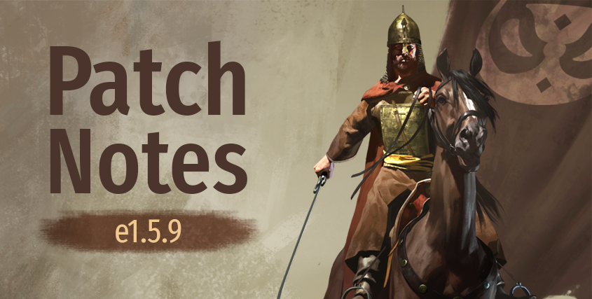 Patch Notes e1.5.9