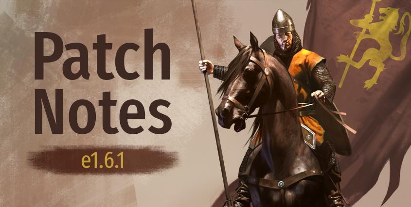 Patch Notes e1.6.1