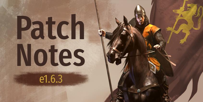Patch Notes e1.6.3